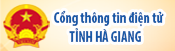 Công thông tin điện tử Hà Giang