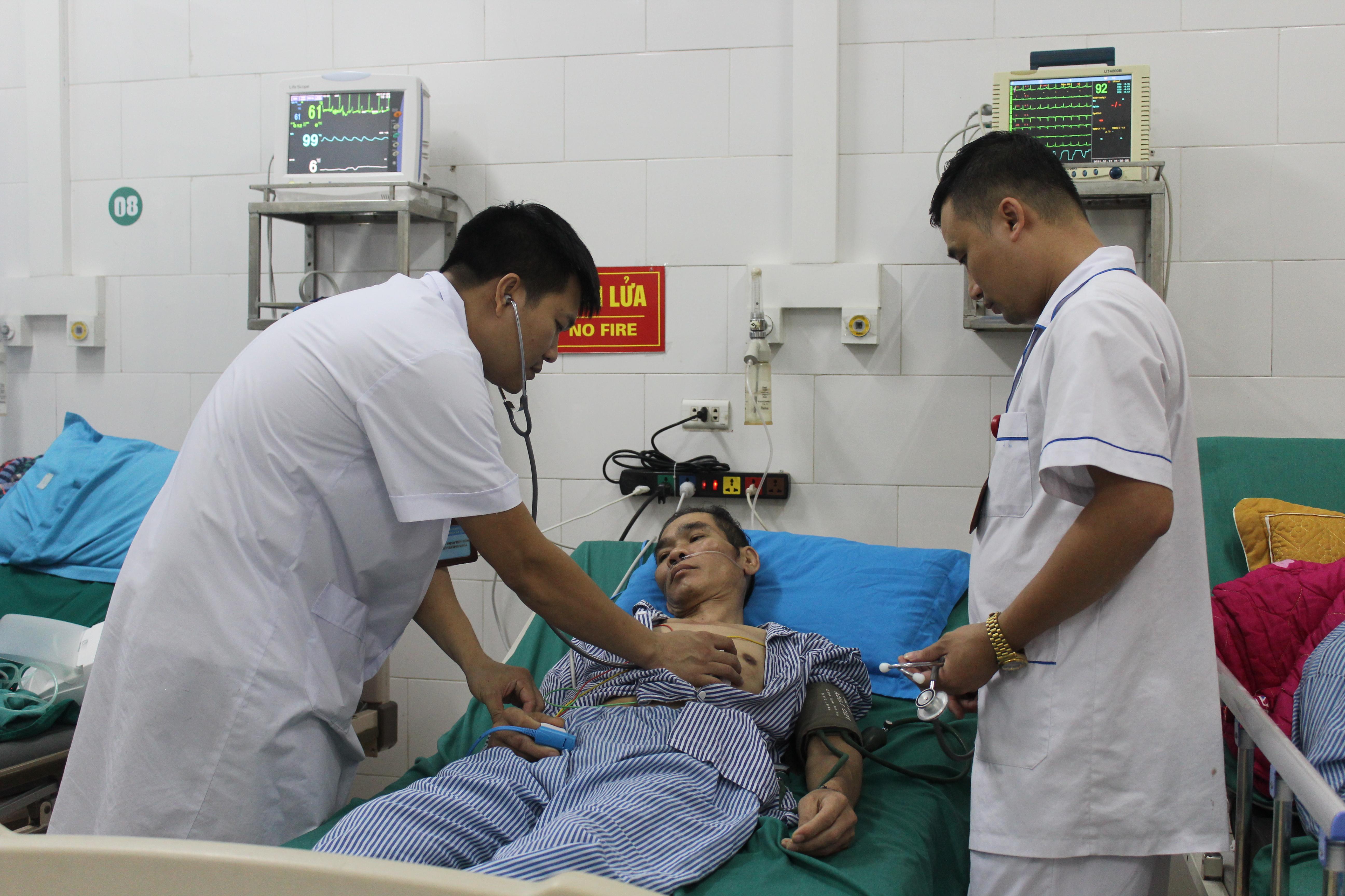 Bệnh viện đa khoa tỉnh cấp cứu thành công ca ngộ độc ấu tẩu gây rối loạn nhịp tim
